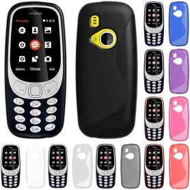 S Line silikonskall Nokia 3310 (2017) mobiltilbehør CaseOnline.se