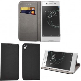 Moozy Smart Magnet FlipCase Sony Xperia XA1 Ultra G3221 mobiltelefon deksel CaseOnline.se