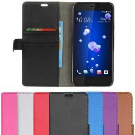 Mobil lommebok 2-kort HTC U11, beskyttelse mot mobil skall CaseOnline