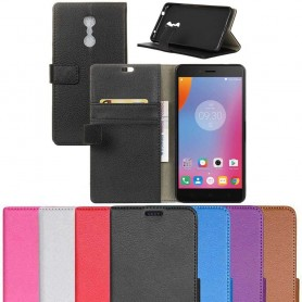 Mobil lommebok 2-kort Lenovo K6 Note mobil omslag caseOnline.se