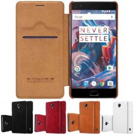 Nillkin Qin FlipCover OnePlus 3 / 3T mobil beskyttelsesetui CaseOnline.se