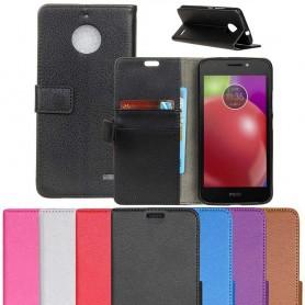Mobil lommebok Motorola Moto E4, mobil omslag CaseOnline.se