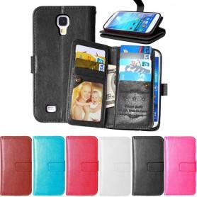 Mobil lommebok Dobbelt flip Flexi Galaxy S4 Mini GT i9190 8-kort CaseOnline.se