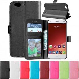Mobil lommebok 3-kort ZTE Blade S6