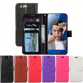 Mobil lommebok 3-kort Huawei Honor 9 STF-L09 vil dekke CaseOnline.se