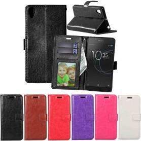 Mobil lommebok 3-kort Sony Xperia L1 mobiltelefon veske CaseOnline