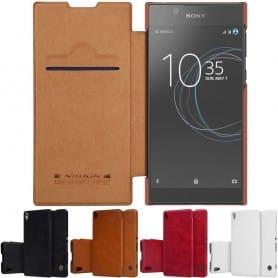 Nillkin Qin FlipCover Sony Xperia L1 mobiltelefonetui CaseOnline.se