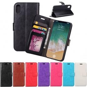 Mobil lommebok 3-kort Apple iPhone X-sett seddel silikonramme CaseOnline
