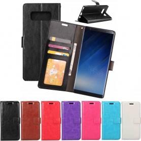 Mobil lommebok 3-kort Samsung Galaxy Note 8 Sm-N950F Mobil beskyttelsesetui CaseOnline