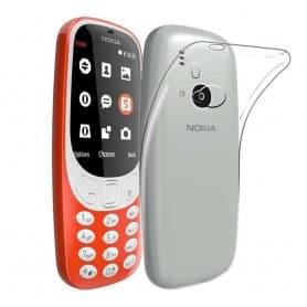 Nokia 3310 (2017) silikonetui Gjennomsiktig mobilbeskyttelse CaseOnline.se
