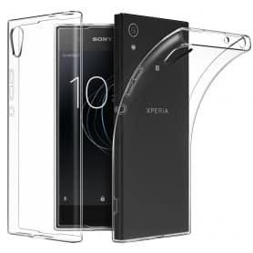 Sony Xperia L1 silikonetui Gjennomsiktig mobil beskyttelse