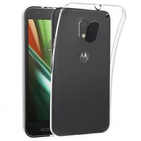 Motorola Moto E3 (3rd Gen) Silikonetui Gjennomsiktig mobil beskyttelse