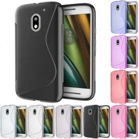S Line silikonskall Motorola Moto E3 (3. Gen) mobil beskyttelse tpu