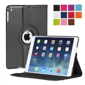 Lærveske 360 roterbar Apple iPad 2/3/4 sett beskyttelsesetui CaseOnline.se