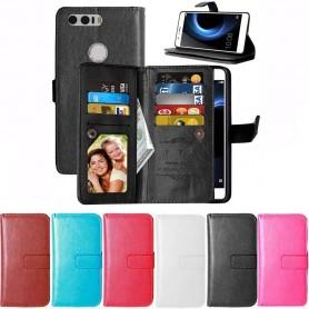 Dobbel flip Flexi mobil lommebok 9 kort Huawei Honor 8 CaseOnline