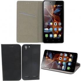 Moozy Smart Magnet FlipCase Lenovo K5 mobiltelefon tilbehør