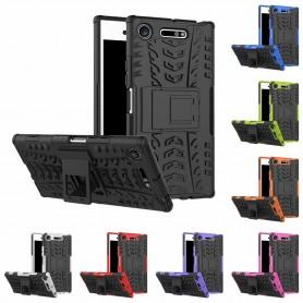 Sjokkbestandig skall Sony Xperia XZ1 G8341 innebygd silikon mobiltelefon skall