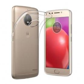 Motorola Moto E4 Plus Silikon deksel Gjennomsiktig mobiltelefon deksel
