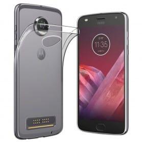 Motorola Moto Z2 Play Silikonetui Gjennomsiktig mobiltelefon deksel