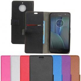 Mobil lommebok 2-kort Motorola Moto G5S Plus Mobil deksel Silikon Caseonline