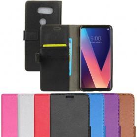 Mobil lommebok 2-kort LG V30 H932 beskyttelsesetui mobiltelefon etui