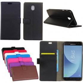 Mobil lommebok 2 kort Samsung Galaxy J7 2017 SM-J730F mobilveske caseonline
