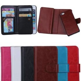 Dobbelt vipp Magnet 2 i 1 iPhone 5, 5S mobil lommebok