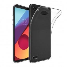 LG Q6 Silikonetui Gjennomsiktig m700 beskyttelsesdeksel for mobiltelefoner