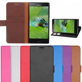 Mobil lommebok 2-kort Sony Xperia XZ1 Compact mobil deksel