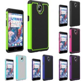 Heavy Duty 2i1 silikonskall OnePlus 3 / 3T mobilt skallbeskyttelses caseonline