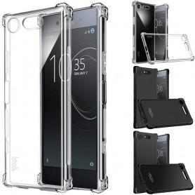 IMAK støtsikkert silikon IMAK til Sony Xperia XZ1 Compact (G8441) mobiltelefon skall