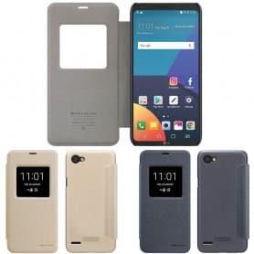 FlipCover Nillkin Sparkle LG Q6 (M700) bevegelige dekslet beskyttelse flip tilfellet