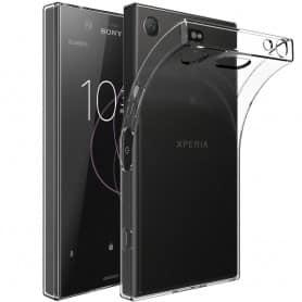 Sony Xperia XZ1 Compact silikonetui Gjennomsiktig mobiltelefon deksel