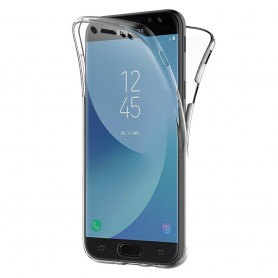 360 full silikon deksel Galaxy J3 2017 SM-J330F mobil deksel