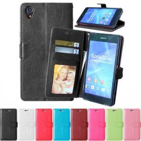 Mobil lommebok 2-kort Sony Xperia Z1 beskyttelsesdeksel