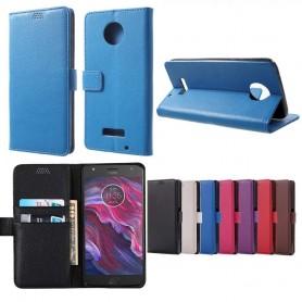 Mobil lommebok Motorola / Lenovo Moto X4 mobil deksel 2 korte tilfeller
