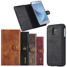 Mobil lommebok magnetisk DG-Ming Samsung Galaxy J3 2017 mobiltelefon veske
