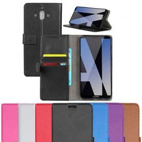 Mobil lommebok 2-korts silikonramme Huawei Mate 10 mobiltelefonveske