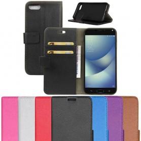 Mobil lommebok 2-korts Zenfone Asus Zenfone 4 Max ZC554KL mobil deksel