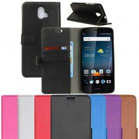 Mobil lommebok 2-korts silikonramme ZTE Blade V8 Pro mobil deksel