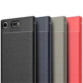 Sony Xperia XZ1 Compact skinnmønstret silikon TPU-deksel mobiltelefon bakdeksel