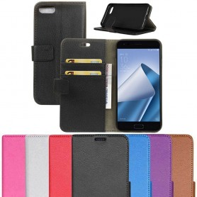 Mobil lommebok 2-korts Zenfone Asus Zenfone 4 ZE554KL mobil deksel