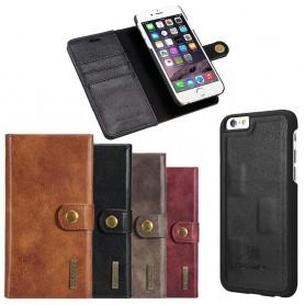 Mobil lommebok magnetisk DG-Ming Apple iPhone 6 / 6S mobiltelefon veske