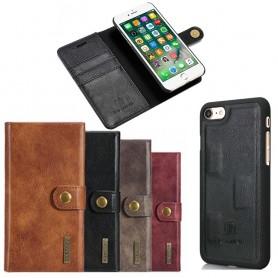Mobil lommebok magnetisk DG-Ming Apple iPhone 7/8 Mobiltelefon veske