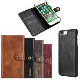 Mobil lommebok magnetisk DG-Ming Apple iPhone 7+ / 8+ mobiltelefon veske