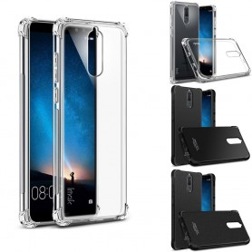 IMAK støtsikker silikonetui til Huawei Mate 10 Lite mobiltelefonveske