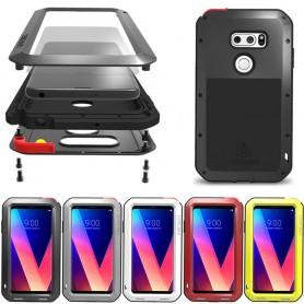 LOVE MER Powerful LG V30 H932 Steel Shell Mobile Shell