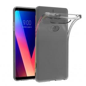 LG V30 Silikonetui Gjennomsiktig Mobile Shell TPU