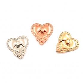 Diamond Love, Mobile Holder, Finger Ring, Selfie