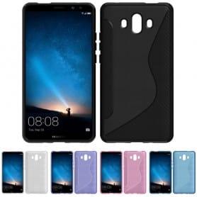 S Line silikonskall Huawei Mate 10 mobil skallbeskyttelse